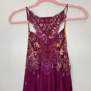 Free People Tops - Intimately Free People | Flowy Lace Pattern Top
